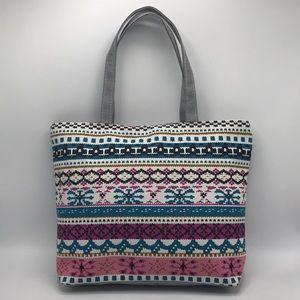 New Lightweight Zip Closure Tote Bag